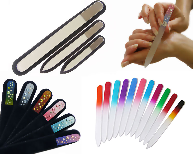 wholesale glass nail files