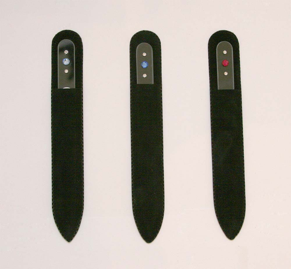 Clear Crystal Nail Files With Swarovski Crystals