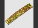 Hair barrette with Swarovski crystals