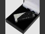 BIC lighter case with Swarovski crystals