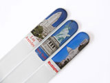 Souvenir glass nail file