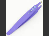 Tweezers with Swarovski crystals